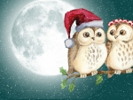 Little Holiday Owls