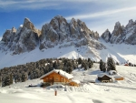Winter in South Tyrol, Italy