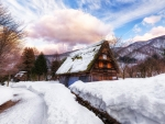 Winter Village House