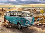 Love and Hope - VW Bus