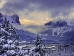 Banff National Park in Winter
