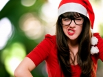 Christmas Women With Glasses