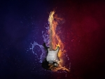fire and ice guitar