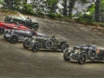 Lined Up at Brooklands
