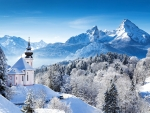 Winter Mountains,Germany