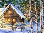 Holiday in the Cabin
