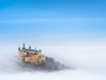 Hohenzollern Castle Above the Fog