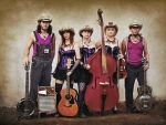 A Cowgirl Band . .