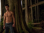Jacob black by a tree