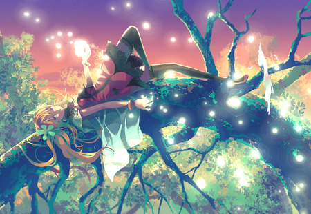 Laying Down - Other & Anime Background Wallpapers on Desktop Nexus ...