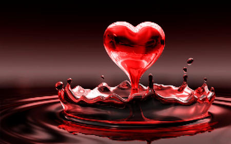 Love Wallpaper Blood : love in blood - 3D and cG & Abstract Background Wallpapers ...