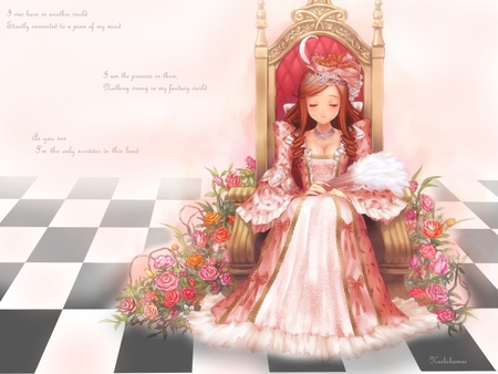 Pretty princess other anime background wallpapers on for Pretty princess wallpaper