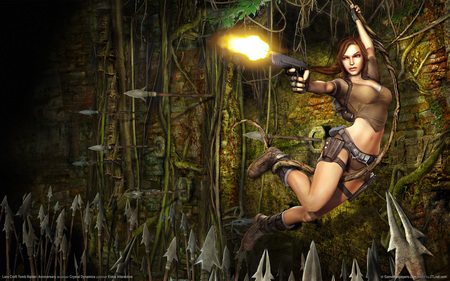 tomb raider 2 - wds, widescreen, tomb raider