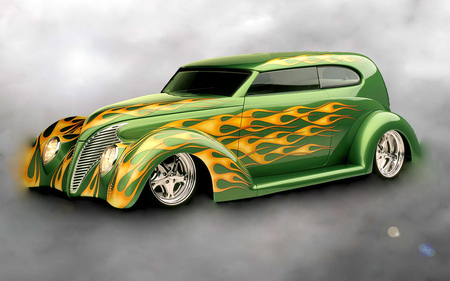 Flame hot rod - flame hot rod