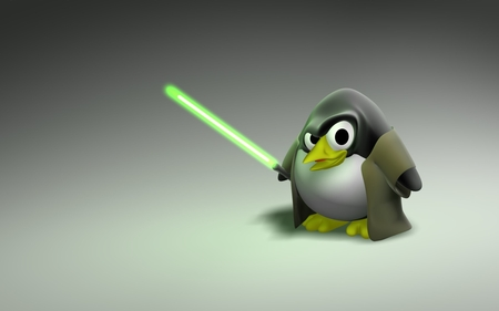 Star Wars Linux - star wars, lightsaber, star, penguin, linux, wars