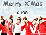 happy x-mas with 2pm