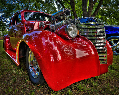 Your Worst Nightmare, Candy Red Sleeper.............. - hot rods, cars