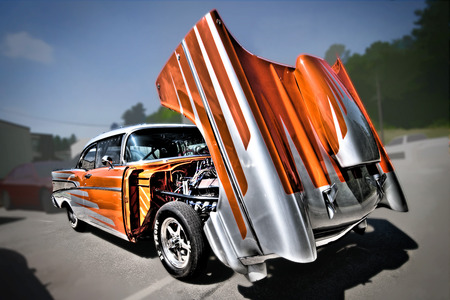 1957 Chevy  - hot rods, cars, chevy