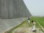 children and wall