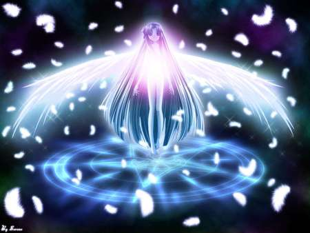 Winged Purity - Other & Anime Background Wallpapers on ...
