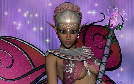 Sparkle Fairy - girl, lady, woman, fairy, fantasy, magical