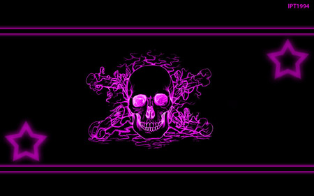 PURPLE SKULL - Other & Abstract Background Wallpapers on ...