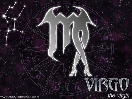 Virgo - symbol, legs, horoscope, astrology, zodiac, purple, woman, star, virgo