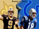 Superbowl Saints vs. Colts!