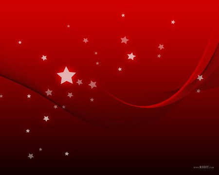 red and star wallpaper jpg - red, kool, stars, floating