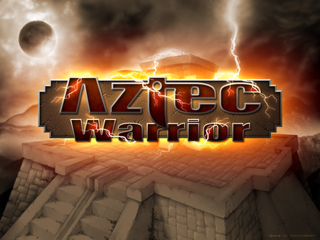 Aztec Warrior - aztec warrior, art