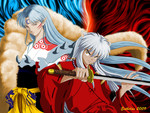 Inuyasha and Sesshoumaru