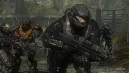 Halo Reach - spartans, cool, wallpaper, halo, screen shot, halo reach