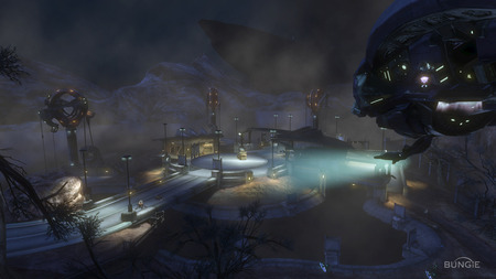 Halo Reach - map, cool, wallpaper, halo, screen shot, halo reach