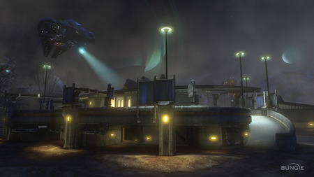 Halo Reach - wallpaper, cool, halo, screen shot, map, halo reach