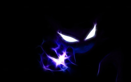 Glowing Haunter - dark, haunter, pokemon, ghost