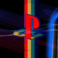 Playstation Logo with PS3 model