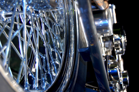 Chrome Steel And Money.............. - harley davidson, motorcycles, choppers