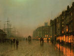 1875. Atkinson Grimshaw. Liverpool from Wapping