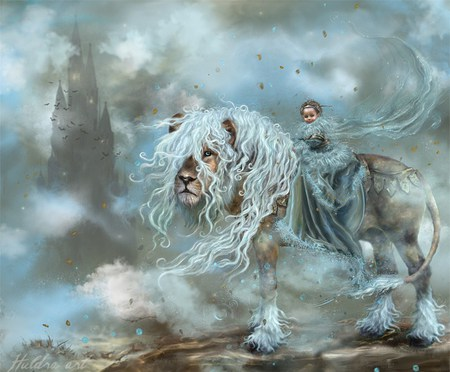 Fantasy lion - photo#21