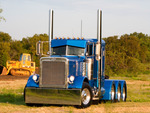 Heavy Hauler With Four Axles On This Bad-Boy