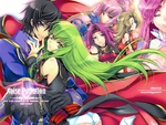 code geass lelouch and the females