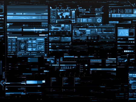 Data Display - Other & Technology Background Wallpapers on Desktop ...