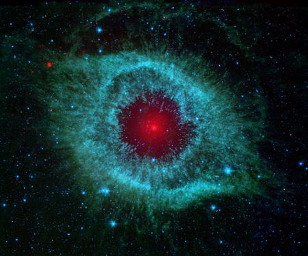 helix nebula - space, nebula, hubble
