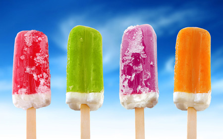 Frozen juice digital photography  wallpaper . jpg - yum icey, four, popcicles