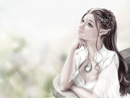 Elf girl by kir-tat on DeviantArt