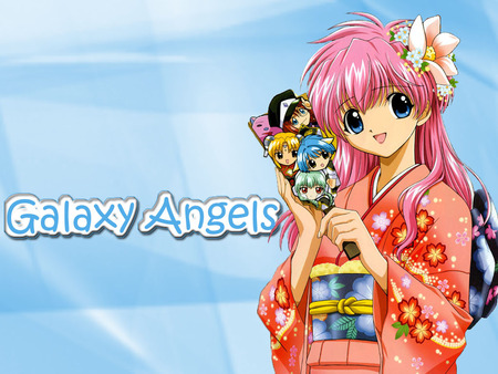 Galaxy Angel - galaxy angel, anime