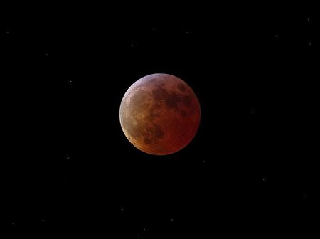 NEW BLOOD MOON - the new moon, the red moon