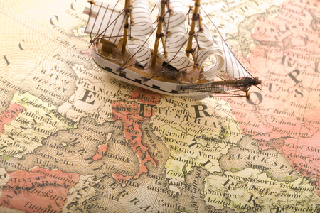 Europe Map - photography, nice, maps, earth, country, boats, map, ships, ship, abstract, sailboat, europe map, boat, sailboats, countries, beautiful, europe, world
