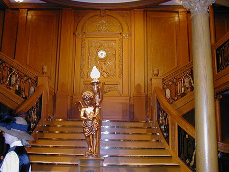 Titanic Grand Staircase - titanic, grand, staircase