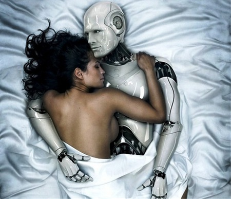 juguete sexual - girl, white, lovers, robot, sexy